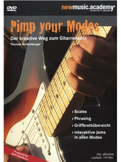 Thomas Rothenberger: Pimp Your Modes - Der Kreative Weg Zum Gitarrensolo DVDs / Videos | E-Gitarre