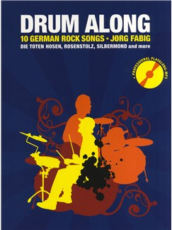 Drum Along - 10 German Rock Songs Books and CDs | Drums