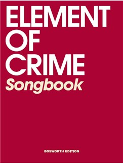 Element Of Crime: Songbook Books | Lyrics & Chords