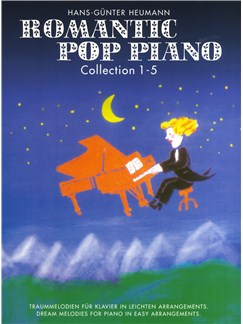 Romantic Pop Piano - Collection 1-5 Books | Piano