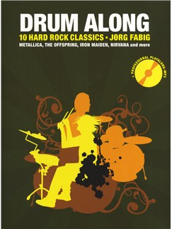 Drum Along - 10 Hard Rock Classics Books and CDs | Drums