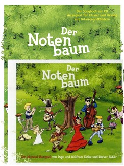 Wolfram Eicke/Dieter Faber: Der Notenbaum - Songbook/CD Books and CDs | Piano, Vocal & Guitar
