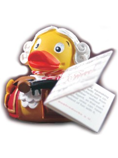 The Mozart Rubber Duck  |