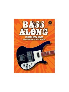 Bass Along - 10 More Rock Songs CD et Livre | Guitare Basse, Tablature Basse