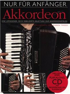 Nur Für Anfänger: Akkordeon Buch und CD | Akkordeon