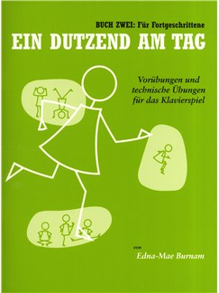 A Dozen A Day Book Two (German Edition) Books | Piano
