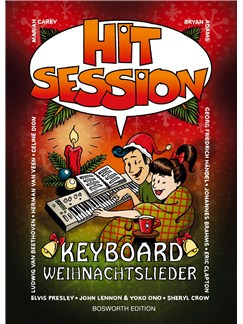 Hit Session Keyboard: Weihnachtslieder Buch | Keyboard
