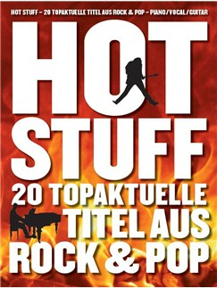 Hot Stuff: 20 Topaktuelle Titel Aus Rock & Pop Libro | Piano, Voz y Guitarra