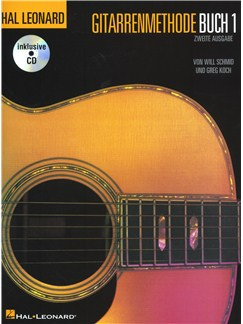 Hal Leonard Guitar Method: Book 1 (German Edition) Books and CDs | Guitar