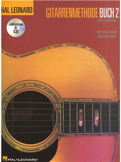 Hal Leonard Guitar Method Book 2 (German Edition) Books and CDs | Guitar
