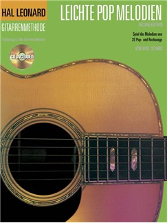 Hal Leonard Gitarrenmethode Leichte Pop Melodien Books and CDs | Guitar