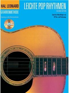 Hal Leonard Gitarrenmethode Leichte Pop Rhythmen Books and CDs   Lyrics & Chords
