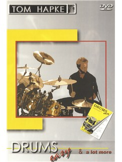 Tom Hapke: Drums Easy And A Lot More (French Edition) DVDs / Videos | Drums