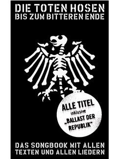 Die Toten Hosen Update 2012 - Bis zum bitteren Ende Books | Lyrics & Chords