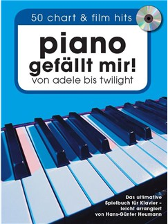 Piano Gefällt Mir! 50 Chart & Film Hits - Book/CD Books and CDs | Piano (with Chord Symbols)