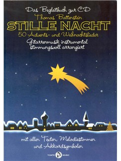 Stille Nacht - 50 Advents - Und Weihnachtslieder Books and CDs | Melody Line, Lyrics & Chords