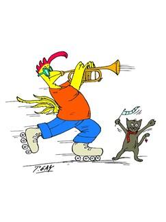 Rocko Trumpet Coffee Mug  |