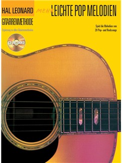 Hal Leonard Gitarrenmethode: Mehr Leichte Pop Melodien Books and CDs | Melody Line, Lyrics & Chords