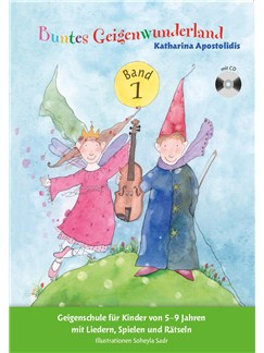 Buntes Geigenwunderland - Band 1 (Book/CD) Books and CDs | Violin