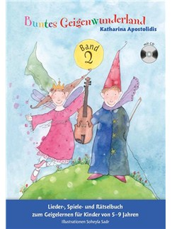 Buntes Geigenwunderland: Band 2 (Book/CD) Books and CDs | Violin