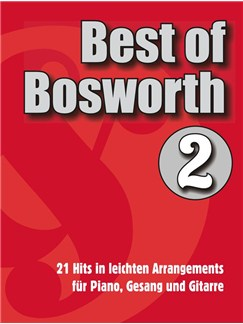 Best Of Bosworth Songbook - 2 Books | Piano, Vocal & Guitar