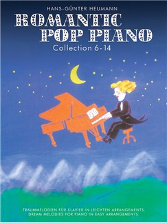 Romantic Pop Piano: Collection 6-14 Livre | Piano Facile, Piano