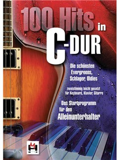 100 Hits In C Major Book 1 Books | Piano, Guitar, Voice