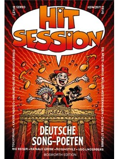 Hit Session Deutsche Song-Poeten Buch | Melodielinie, Text & Akkorde