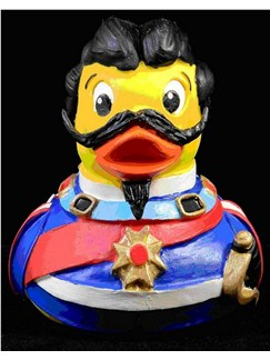 The Bavarian King Ludwig Rubber Duck  |