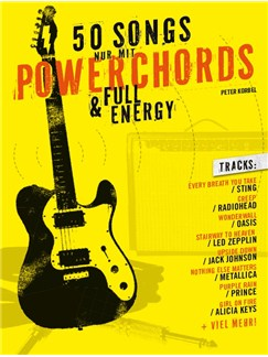 50 Songs Nur Mit Powerchords & Full Energy Books | Guitar