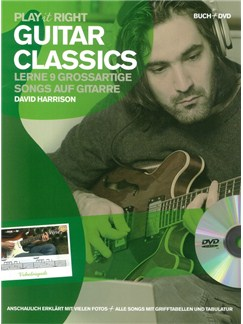 Play it right - Guitar Classics Buch und DVDs / Videos | Gitarre