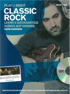 Play It Right - Classic Rock Buch und DVDs / Videos | Gitarre
