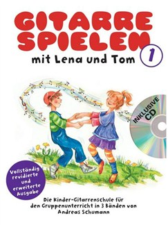 Gitarre Spielen Mit Lena Und Tom - Band 1 (Book/CD) (German) Books and CDs | Guitar