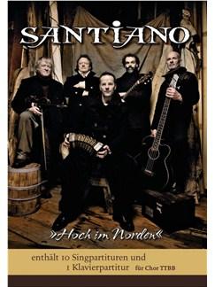 Santiano: Hoch Im Norden (Score/Parts) Buch | TTBB, Klavierbegleitung