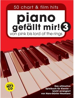 Piano gefällt mir! 50 Chart Und Film Hits: Band 3 mit CD Books and CDs | Piano