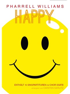 Pharrell Williams: Happy - SSATB Books | SATB
