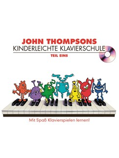 John Thompson's Kinderleichte Klavierschule: Teil 1 Books and CDs | Piano