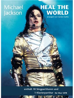 Michael Jackson: Heal The World - SATB & Piano Books | SATB, Piano Accompaniment