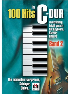 100 Hits In C-Dur: Band 2 Books | Piano, Vocal & Guitar