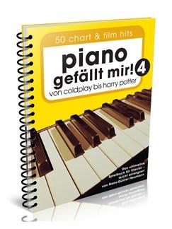 Piano gefällt mir! 50 Chart und Film Hits - Band 4 (Variante Spiralbindung) Buch | Klavier