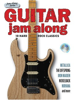 Guitar Jam Along - 10 Hard Rock Classics (Book/CD) Books and CDs | Guitar