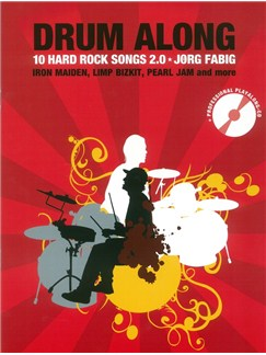 Drum Along - 10 Hard Rock Songs 2.0 (Book/CD) Books and CDs | Drums