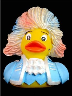 The Mozart Rubber Duck: Rock Meets Amadeus (Blue)  |