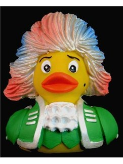 The Mozart Rubber Duck: Rock Meets Amadeus (Green)  |