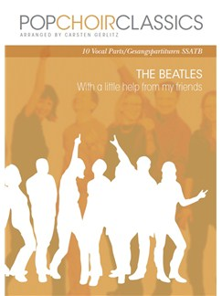 Pop Choir Classics: The Beatles - With A Little Help From My Friends (SSATB) Books | SATB