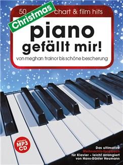 Hans-Günter Heumann: Christmas Piano Gefällt Mir! (Book/CD) Buch und CD | Einfaches Klavier