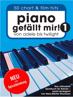 Piano Gefällt Mir! 50 Chart & Film Hits (Spiral Bound) Books | Easy Piano