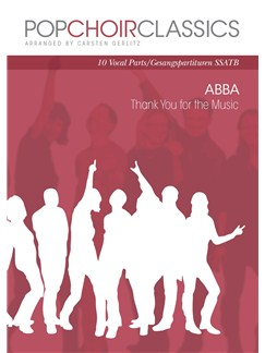 Pop Choir Classics: ABBA - Thank You For The Music (SSATB) Books | SATB