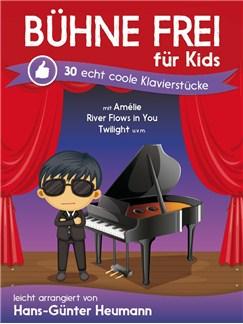 Hans-Günter Heumann: Bühne Frei Für Kids - Echt Coole Klavierstücke Buch | Klavier