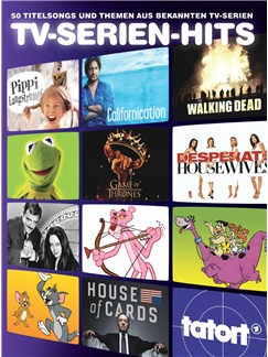 TV-Serien-Hits - 50 Titelsongs Und Themen Aus Bekannten TV-Serien Buch | Klavier, Gesang & Gitarre